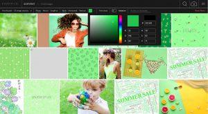 Everypixel Filteransicht Grün