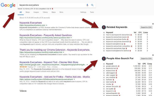 Chrome Plugins für Marketer 19