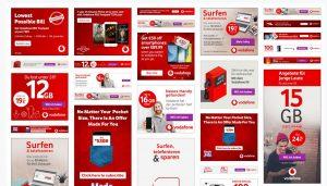 Moat.com Anzeige von Vodafone Werbeanzeigen