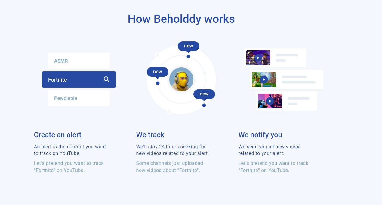 Beholddy Screenshot