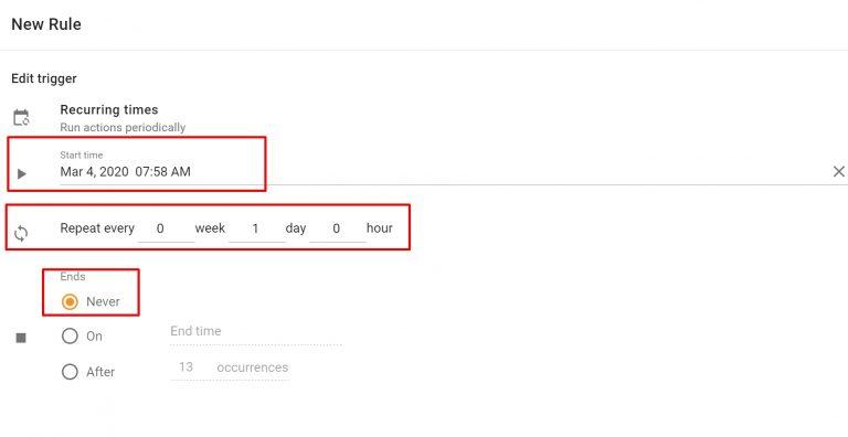 Google Kalender: Tägliche & Wöchentliche Agenda im Posteingang 4