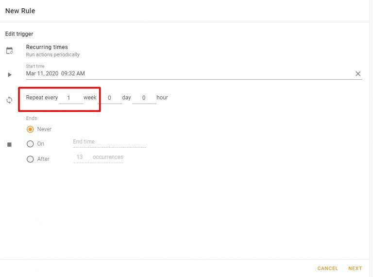 Google Kalender: Tägliche & Wöchentliche Agenda im Posteingang 12