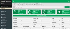 openlinkprofiler-screenshot 1