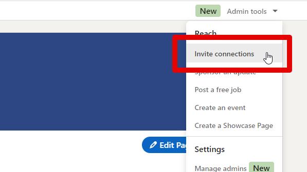 LinkedIn Filter für Firmeneinladungen 1