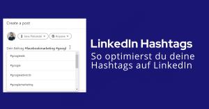 LinkedIn Hashtags